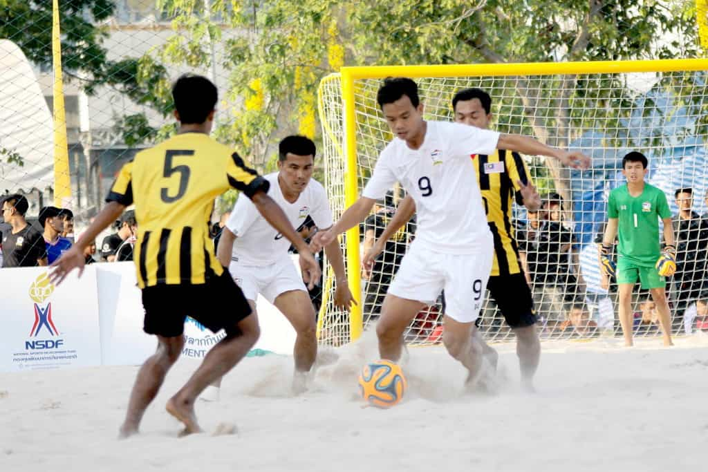 beach soccer thai